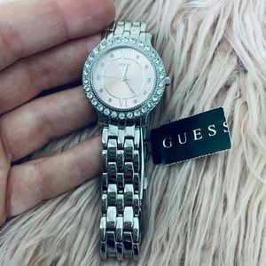 Ladies Pink Guess Watch